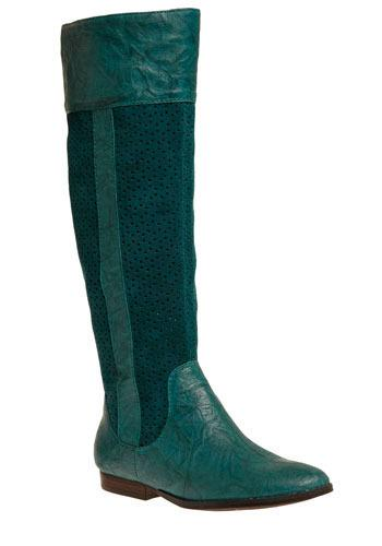 Teal Good Time Boot
