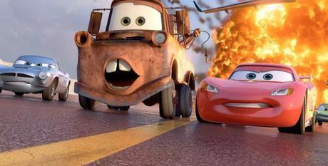 Carmageddon.  In Pixar 3D?
