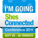 ShesConnected Conference 2011 - I'm Going!