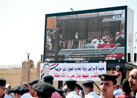 Judge ends live TV coverage of Mubarak trial, postpones until September