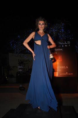Nitya Bajaj Unveils Evening Wear- 2011
