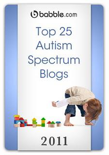 I'm one of the 'Top 25 Autism Blogs' {Your Son Has Autism, Congratulations!}