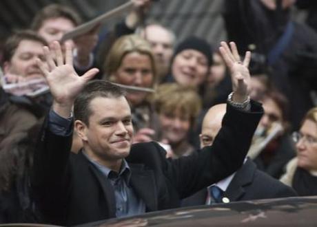 Michael Moore pushes Matt Damon for US presidency