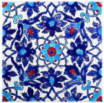 Moroccan decorating ideas: Iznik Tiles By Saint Tropez Boutique