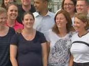 Obama Visits High School