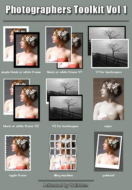 10 Free Photoshop Actions