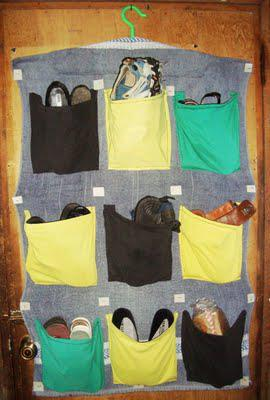 DIY: How to Make a Shoe Organizer