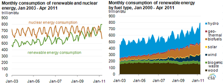 Sign of the Times? Renewable Energy Consumption Tops Nuclear