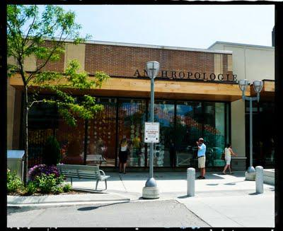 Clothing stores like anthropologie