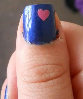 NOTD: The Queen of Quirky Hearts