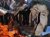 Libya Gaddafi's Hold Power Coming End.