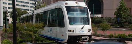 """Virginia's First Light Rail, """"The Tide,"""" Opens in Norfolk"""