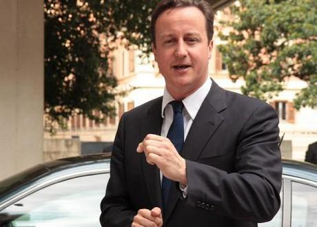 What Libyan leader Gaddafi's fall means for British PM David Cameron