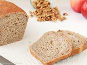 Apple Walnut Bread (vegan)