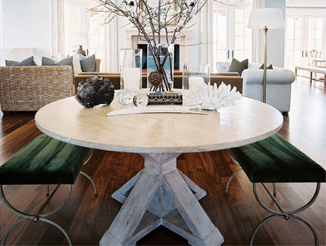 House Tour: An airy Arizona home - light and airy with gorgeous antiques