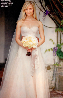 Celebrity Wedding Dresses 2011
