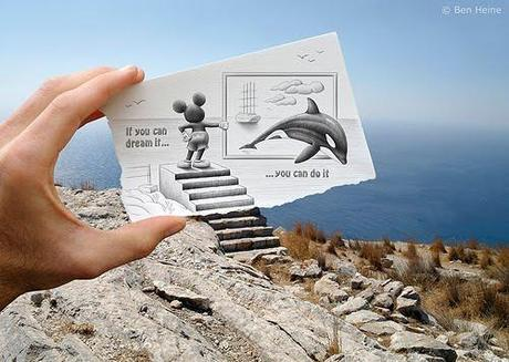 Pencil Vs Camera By Ben Heine 1