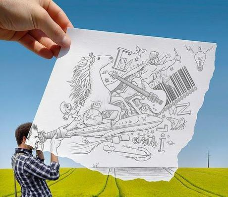 Pencil Vs Camera By Ben Heine 3