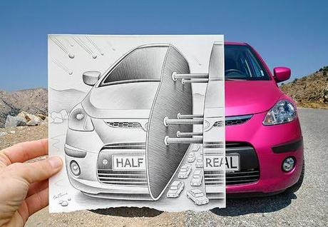 Pencil Vs Camera By Ben Heine 2
