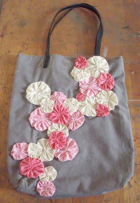 Making My New Spring Tote