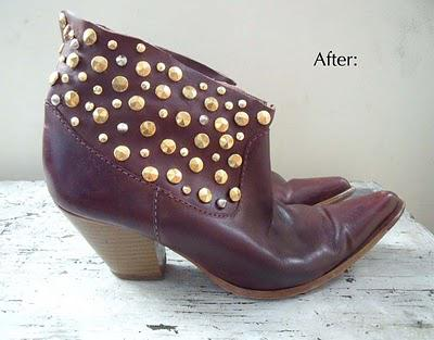 My New Studded Boots