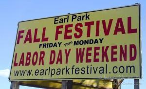 Earl Park, Indiana Fall Festival