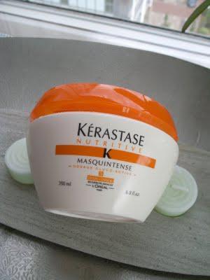 how to use kerastase hair mask