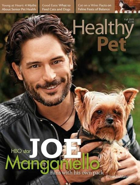 Joe Manganiello on the cover of the Fall 2011 Healthy Pet Magazine