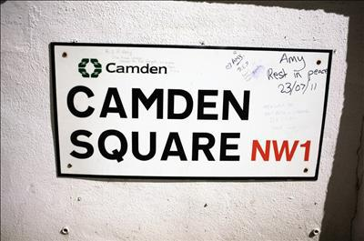 In and Around London... Amy Winehouse's Camden II