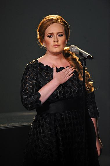 Adele hits a high with a chill-inducing performance of 'Someone Like You' at the 2011 MTV Video Music Awards in Los Angeles.