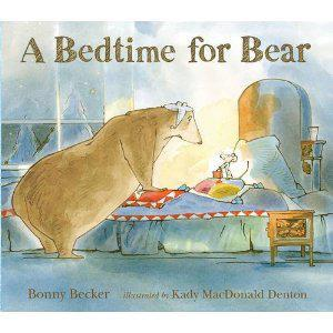 Book Sharing Monday:A Bedtime for Bear