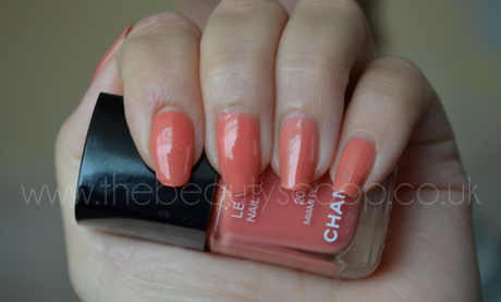 Chanel Le Vernis Nail Polish, Miami Peach (203) - Swatched!