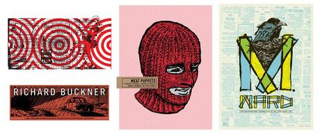 Top 5 Gig Poster Artists: Austin Town Hall +