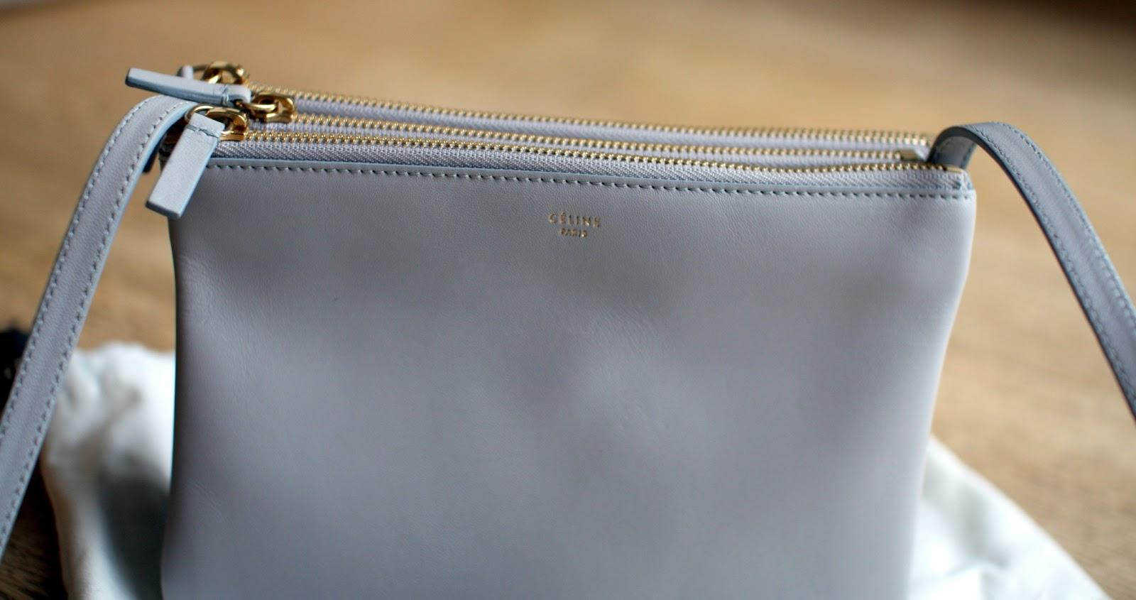 My Little Pearl Grey C¨¦line Trio Bag - Paperblog