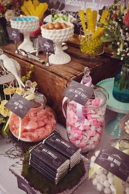A Vintage Garden Wedding Theme by Sensationally Sweet Events