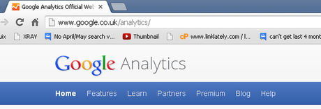 Co-occurrence ? – or something else – A Google Analytics Case Study