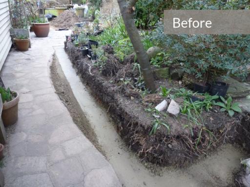 Garden redesign a garden transformed paperblog for Redesign your garden