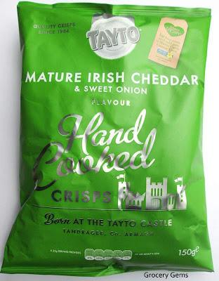 Tayto Mature Irish Cheddar & Sweet Onion Review