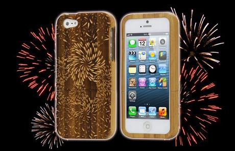 Cover for iPhone 5 - Fireworks