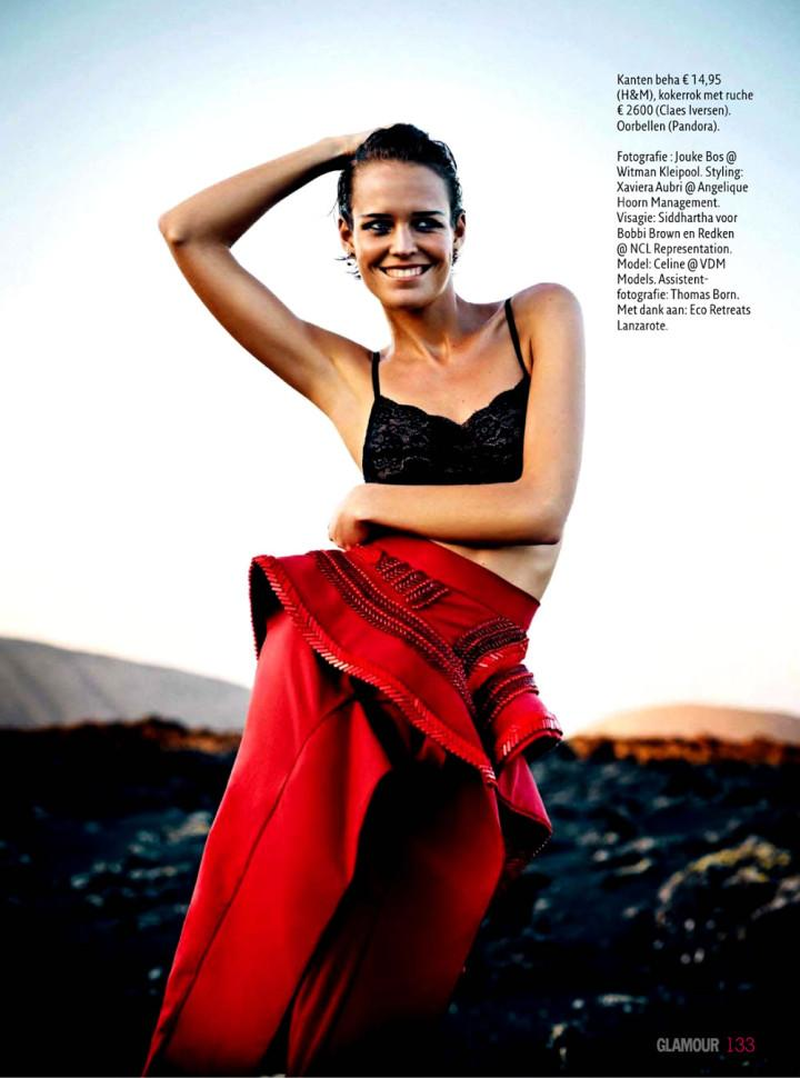 Celine van Amstel by Jouke Bos for Glamour Nederland May 2013 8