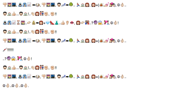 Screen Shot 2013 03 22 at 6.27.39 PM GUESS THAT BAND/SONG: A GAME OF EMOJI RIDDLES