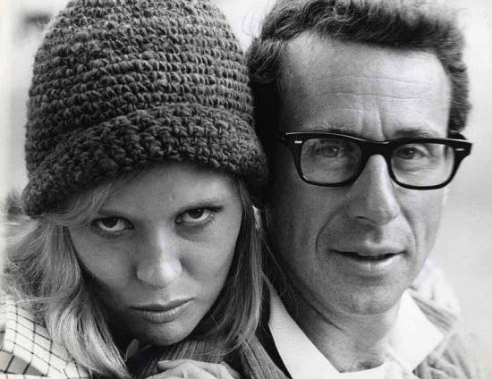 BC_2Photo of Faye Dunaway and director Arthur Penn during the filming of Bonnie & Clyde, 1967