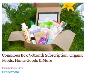 Daily Deal: 3 Months of Conscious Box for $29, $20 for $40 of Babo Botanicals Skincare, and Free $25 Credit to Vault (Making Items $10 or Less)!