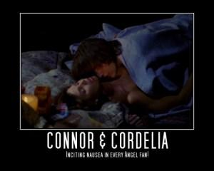 Angel Connor Cordelia