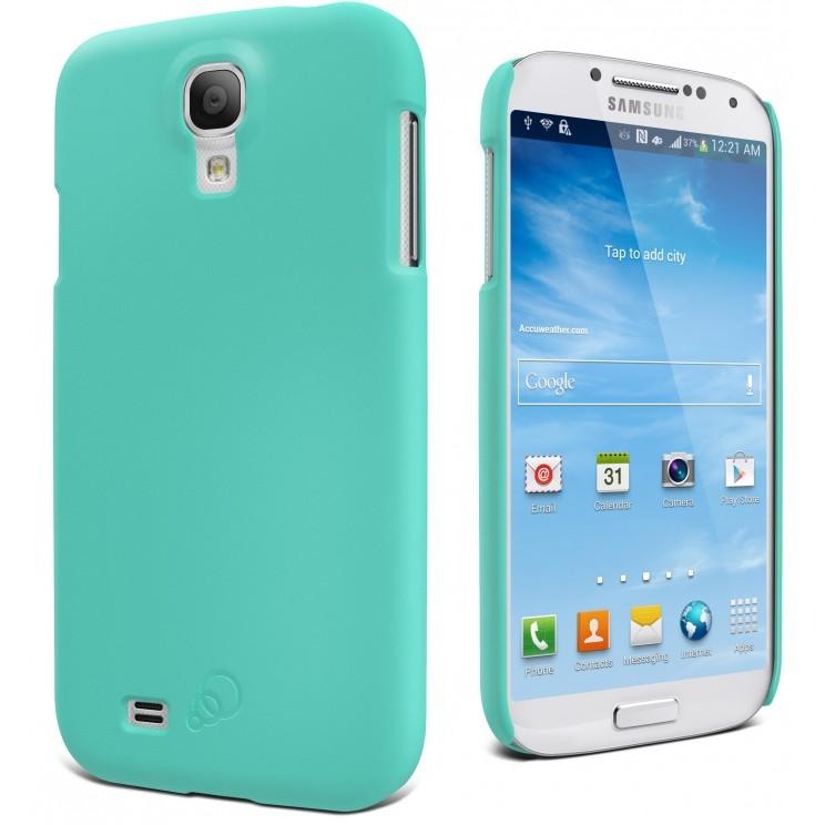 Mint Cygnett Feel Snap-on Cover for Galaxy S4