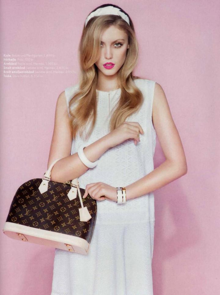 Lucia Jonova by Olivia Frølich for Elle Denmark April 2013 4
