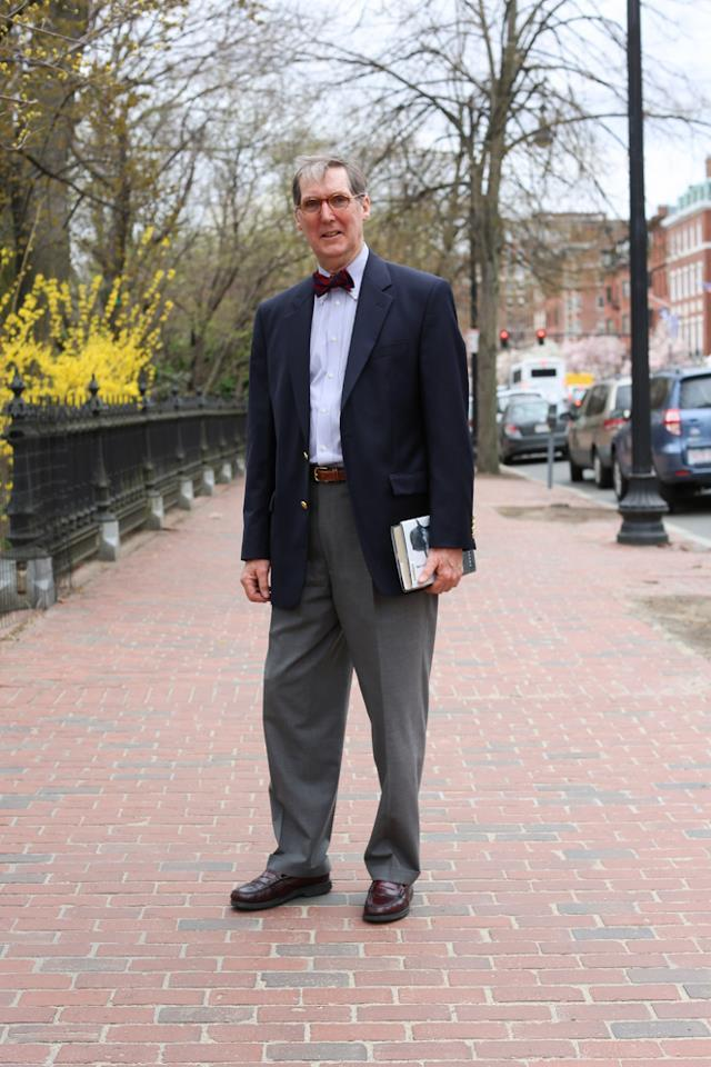 "humansofnewyork:  ""If you could give one piece of advice to a large group of people, what would it be?""""Keep your hands to yourself.""  (Boston, MA)  Great advice!"