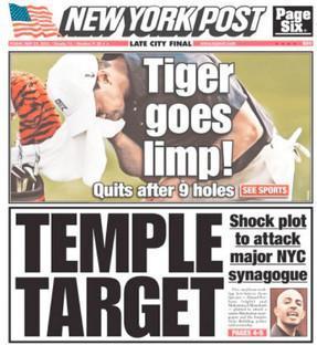 NY Post's past sledge-hammer subtlety