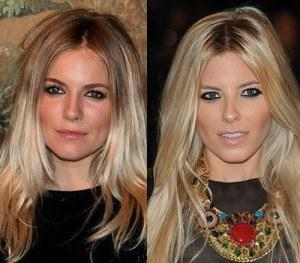 Sienna Miller and Mollie King