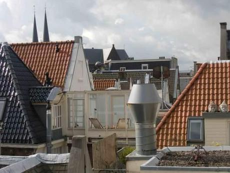 Up on the rooftops, Amsterdam